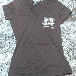 Never worn two gingers whiskey size medium t-shirt